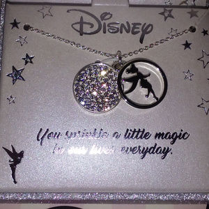 DISNEY TINKERBELL I DO BELIEVE IN FAIRIES NECKLACE